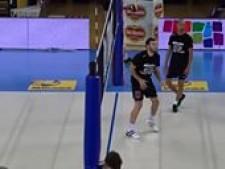 Luciano De Cecco & Ivan Zaytsev training