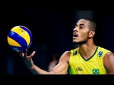 Top 10 Best Volleyball Spike | Ricardo Lucarelli (Brazil Vol