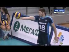 Maxim Mikhaylov 4 aces on 5 serves