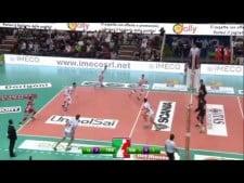 Giannelli and Mazzone great play (Trentino - Vibo Valentia)