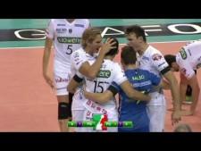Huge block by Fedrizzi on Zaytsev!