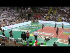 Luciano De Cecco and Fabio Balaso great defences