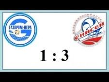 Gazprom Surgut - Enisey Krasnoyarsk (Highlights)