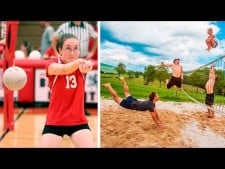 Funny Volleyball Videos 2016 | Funny Vines | Try Not To Laug