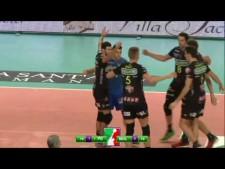 James Shaw in match Padova - Molfetta