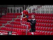 Padova's ball shooting machine