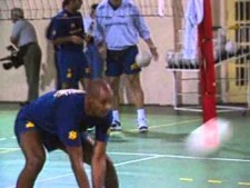 Giba and Kid, the first Brazilians to play as a libero