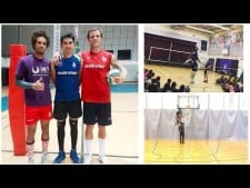 When A Volleyball Player Switch To Basketball! by Terrel Bra