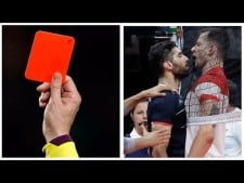 Unbelievable Red/Yellow Card in Volleyball History! [HD]