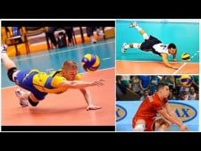Top 10 double & triple Legendary Voleyball Saves (Digs)