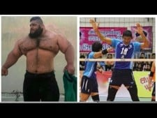 6 Real Volleyball Giants ᴴᴰ