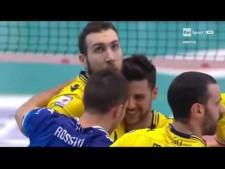 Santiago Orduna great defence (Molfetta - Modena)