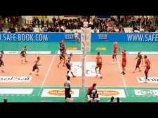 Simone Buti great block (Monza - Perugia)