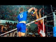 TOP 100 | Attack in 3rd meter | Volleyball Best Moments