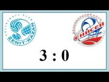 Zenit Kazan - Enisey Krasnoyarsk (Highlights)