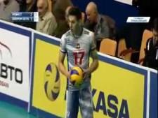 Viktor Poletaev 2 aces in a row (Kemerovo - Surgut)
