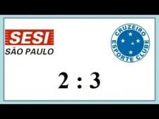 Sesi Sao Paulo - Sada Cruzeiro Volei (Highlights)