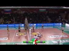 Earvin Ngapeth 2nd meter Spike (Sora - Modena)