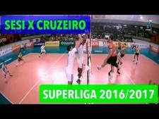 Sesi SP - Sada Cruzeiro - Brazilian Superliga (full match)
