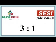 Brasil Kirin/Campinas - Sesi Sao Paulo (Highlights)