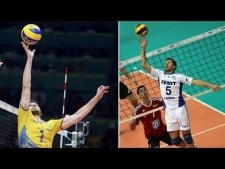 Top 10 Fantastic Volleyball Sets | One hand set