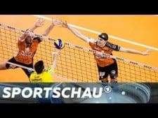 Berlin Volleys - VfB Friedrichshafen (Highlights)