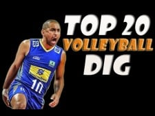 TOP 20 Best Volleyball Digs