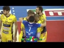 Earvin N'Gapeth fantastic spike (Modena - Ravenna)