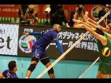 Amazing Diagonal Spike | Crazy Volleyball