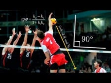 Top 20 Incredible Angle Of Attack | Super Volleyball Spikes
