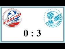 Enisey Krasnoyarsk - Zenit Kazan (Highlights)
