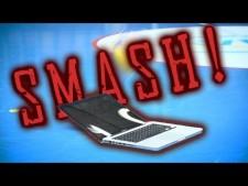 Smashing a MacBook Pro!