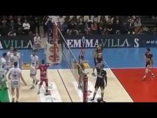 Simone Giannelli fantastic set (Trentino - Modena)