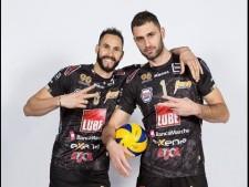 Sokolov & Juantorena in match Macerata - Trentino