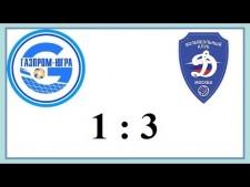 Gazprom Surgut - Dynamo Moscow (Highlights)