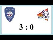 Dynamo Moscow - Yugra-Samotlor Nizhnevartovsk (Highlights)