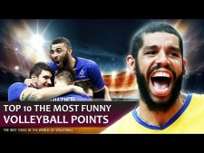 TOP10 Funny Volleyball Points