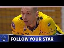 Kevin Le Roux in match Craiova - Modena