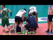 Earvin N'Gapeth knocked out Nikola Jovovic