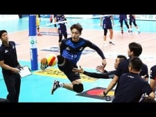 TOP 20 Volleyball Foot Saves