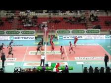 Stephen Maar in match Padova - Milano