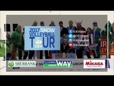 Snow Volleyball European Tour 2017 (Trailer)