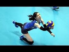 Attacks amazing By Libero Arisa Sato ( JPN)