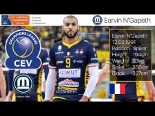 TOP 20 Best Volleyball Spikes by Earvin Ngapeth