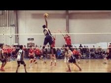 Daenan Gyimah - Volleyball Player Without Gravity