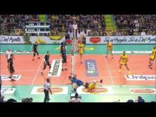Modena Volley great actions (Verona - Modena)