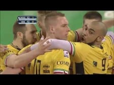 Kevin Le Roux 2 aces in a row (Modena - Verona)