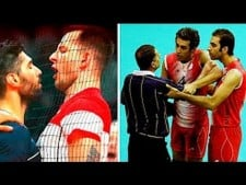 Best Fight Volleyball & Angry Moments