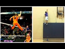 Volleyball Stars- The man that gravity forgot ! Awesome !