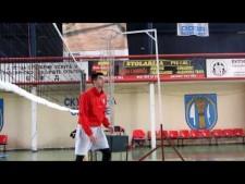 Nikola Zivanovic training
